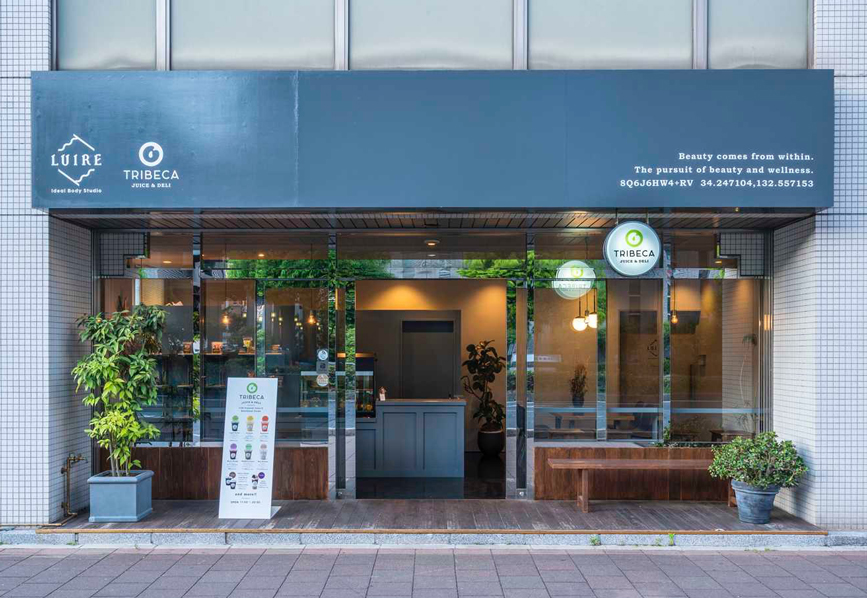 広島呉カフェ_トライベッカ店舗